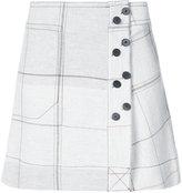 Derek Lam 10 Crosby A-Line Skirt