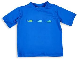 Florence Eiseman Baby Boy's Whale Short-Sleeve Rashguard