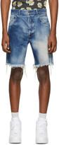 John Elliott Blue The Kane 2 Shorts