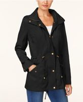 Style&Co. Style & Co Cotton Hooded Utility Jacket, Created for Macy's