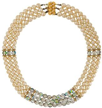 A.N.G.E.L.O. Vintage Cult 1980s embellished collar necklace