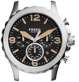Fossil Nate Chronograph Rose Goldtone Stainless Steel Watch Case