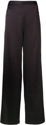 Chalayan Double-Layer Split Trousers