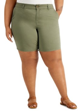 Style&Co. Style & Co Plus Size Chino Shorts, Created for Macy's