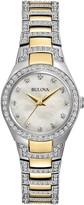Bulova Women's Crystal Two-Tone Bracelet Watch