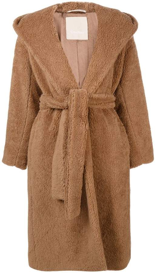 Max Mara 'S hooded Teddy coat