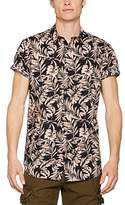 New Look Men's Galaxy Floral Casual Shirt