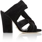 Sergio Rossi Women's Moulage Velvet Sandals