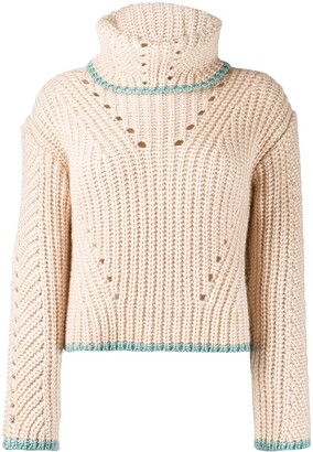 Fendi Chunky Knit Sweater