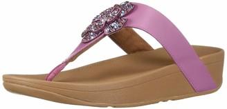 FitFlop Women's Lottie Corsage Toe-Thongs Sandal