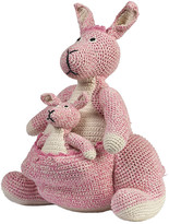 Anne Claire Crochet Kangaroo - Pink