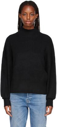 Won Hundred Black Alpaca Blakely Sweater