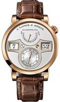 A. Lange & Söhne A. Lange and Sohne Zeitwerk 140.032 18K Rose Gold with Silver Dial 41.9mm Mens Watch