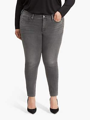 Levi's Plus 310 Shaping Skinny Jeans, Shade Of Grey
