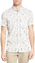 Billy Reid Tuscumbia Floral Print Sport Shirt