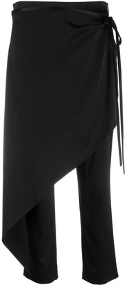 Hellessy Cropped Side Tie Trousers