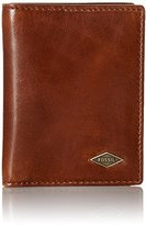 Fossil Men's RFID Blocking Ryan Card Holder Bifold Wallet