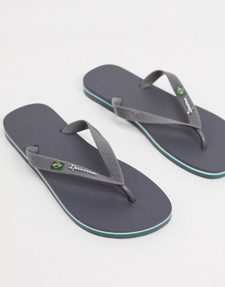 Ipanema Classic Brazil thongs in graphite