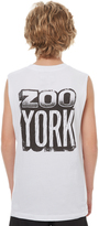 Zoo York Kids Boys Stone Muscle White