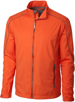 Cutter & Buck Orange WeatherTec Opening Day Soft-Shell Jacket
