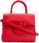 Maison Margiela boxy tote bag - women - Cotton/Leather - One Size