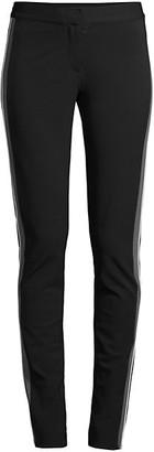 Derek Lam Hanne Slim-Fit Tuxedo Stripe Leggings