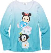 Disney Girls Short Sleeve T-Shirt-Big Kid
