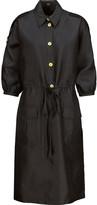 Raoul Detta silk-blend satin-twill mini dress