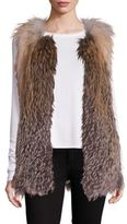 Doma Fox Fur Vest