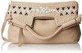 Foley + Corinna Embellished Weave Mid City Top Handle Bag