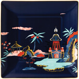Wedgwood Wonderlust Square Tray - Blue Pagoda