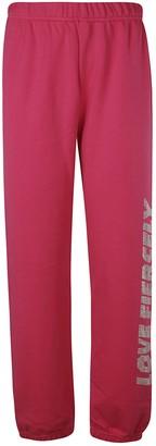 Chiara Ferragni Love Fiercely Jogging Track Pants
