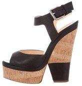 Giuseppe Zanotti Leather Platform Sandals