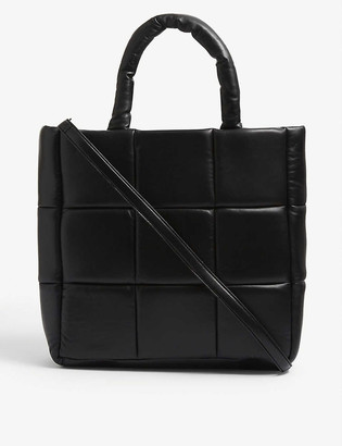 Stand Assante quilted leather tote bag