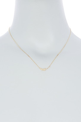 Meira T 14K Yellow Gold Diamond Cluster Floral Pendant Necklace