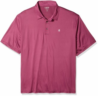 Izod Men's Big Golf Greenie Short Sleeve Solid Polo