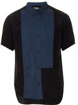 Yohji Yamamoto Multi-panel Short-sleeved Shirt