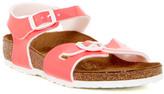 Birkenstock Rio Neon Pink Sandal (Toddler & Little Kid)