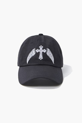 Forever 21 Winged Cross Dad Cap