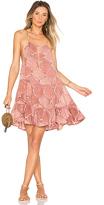 Indah Joy Mini Dress in Taupe