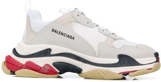 Balenciaga M Triple S tricolour sole sneakers