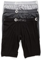 Ethika Men's 3-Pack Modal Blend Boxer Briefs