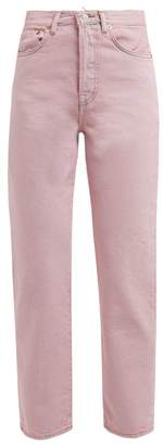 Acne Studios Mece Straight Leg Jeans - Womens - Pink