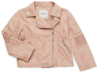 Urban Republic Little Girl's Faux Leather Jacket