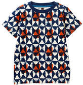 Tea Collection African Batik Tee (Little Boys & Big Boys)