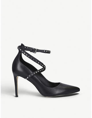MICHAEL Michael Kors Jeannie studded leather pumps