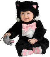 Rubie's Costume Co Black & Pink Cat Dress-Up Set - Infant