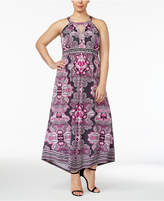 INC International Concepts Plus Size Embellished Maxi Dress, Only at Macy's