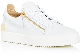 Giuseppe Zanotti Men's Double Zip Low-Top Sneakers