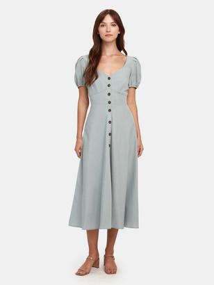 ASTR the Label Pippa Sweetheart Midi Dress